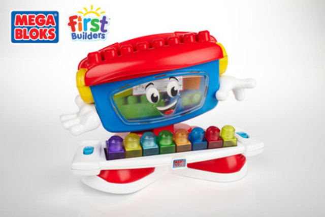 Mega Bloks First Builders - Billy Beats the Dancing Piano 2013 (CNW Group/MEGA BRANDS INC.)