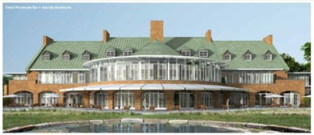 Le bâtiment patrimonial Hélène-de-Champlain sera converti en Complexe locatif événementiel haut de gamme, incluant un volet grand public qui reste à définir. (Groupe CNW/SOCIETE DU PARC JEAN-DRAPEAU)