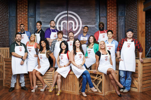 The MASTERCHEF CANADA Season 2 Top 16. Courtesy of CTV. (CNW Group/CTV)