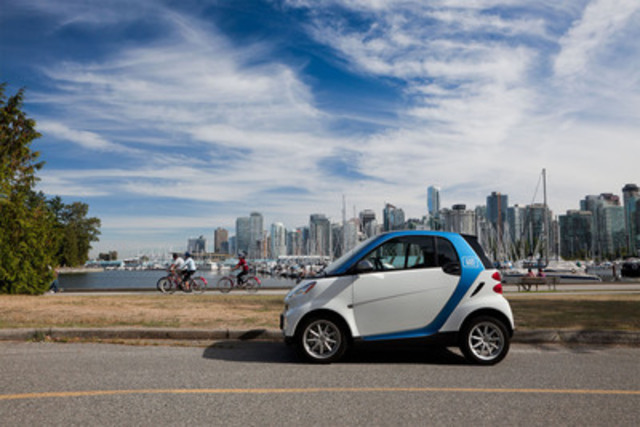 car2go Poised for Growth in Vancouver This Spring (CNW Group/car2go Canada Ltd.)