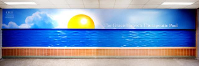 QEII Foundation celebrates The Grace Hansen Therapeutic Pool (CNW Group/QEII FOUNDATION)