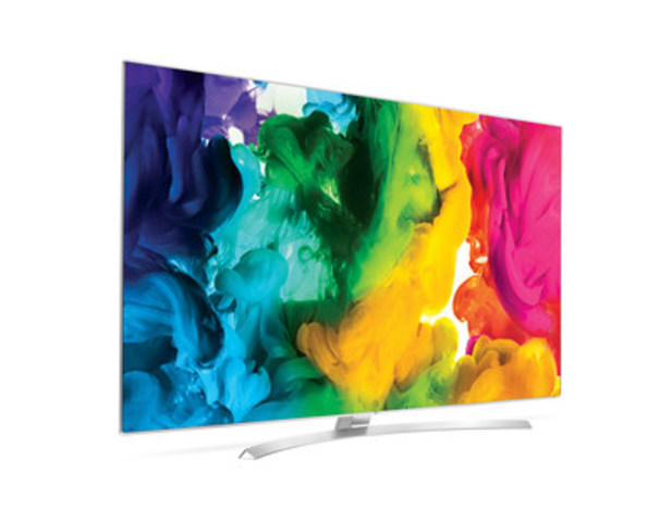 Téléviseurs LG SUPER UHD (Groupe CNW/LG Electronics Canada)