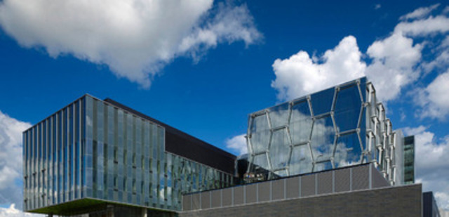 Quantum Nano Centre at University of Waterloo is Canada's newest science research showcase. (CNW Group/Kuwabara Payne McKenna Blumberg Architects)