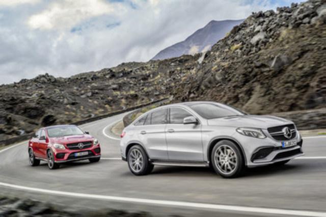 Mercedes-Benz Canada maintient son rythme de vente en avril (Groupe CNW/Mercedes-Benz Canada Inc.)