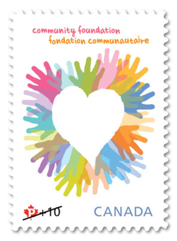 Canada Post launched its 2012 Community Foundation for Children fundraising campaign in Toronto today by unveiling a semi-postal stamp. (CNW Group/Canada Post)