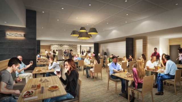 Rendering: Elements Casino - Buffet (CNW Group/Great Canadian Gaming Corporation - Media Relations)