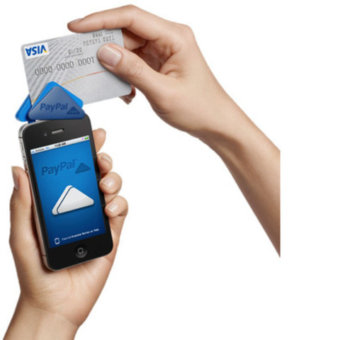 PayPal's new mobile payment app and card reader lets