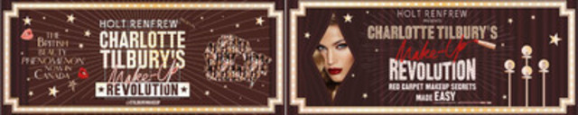 CHARLOTTE TILBURY's MAKE UP REVOLUTION (CNW Group/Charlotte Tilbury)