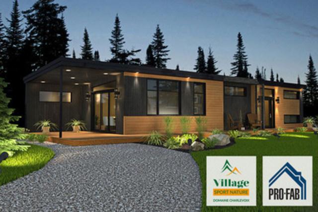 MINI-MAISON 2 CHAMBRES - VILLAGE SPORT NATURE (Groupe CNW/Village Sport Nature)
