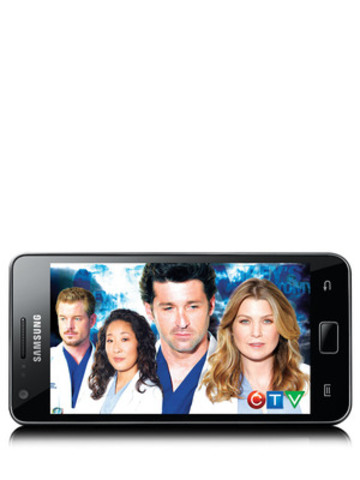 CTV's Grey's Anatomy on Bell Mobile TV (CNW Group/BELL MOBILITY)