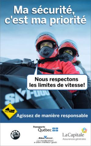 Affiche motoneige (Groupe CNW/LA CAPITALE ASSURANCES GENERALES INC.)