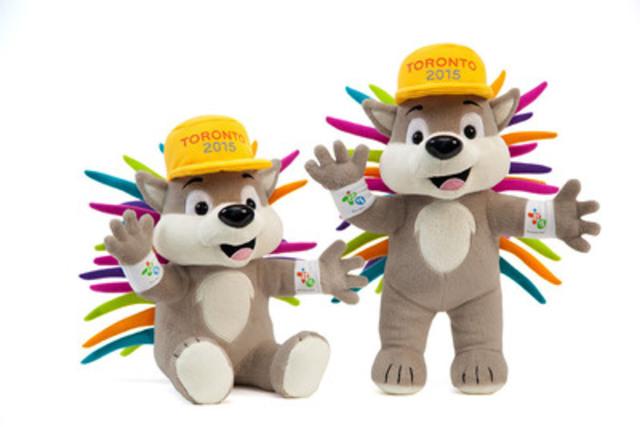 PACHI est la mascotte officielle de TORONTO 2015. Le tout nouveau jouet en peluche PACHI est offert en version debout (28 cm) ou assiste (22 cm). (Groupe CNW/Jeux pan/parapanaméricains de Toronto 2015)