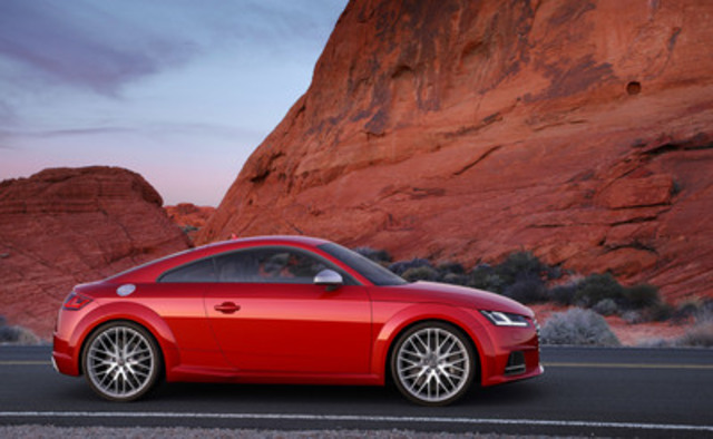 TTS Coupe (CNW Group/Audi Canada Inc.) ...