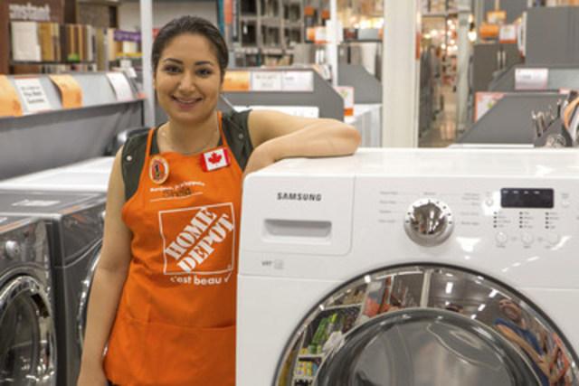 Home Depot Canada procédera à l'embauche printanière de près de 6 000 associés. (Groupe CNW/The Home Depot Canada)