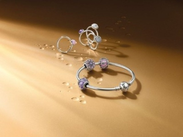 Shimmering Droplets (CNW Group/PANDORA Jewellery)