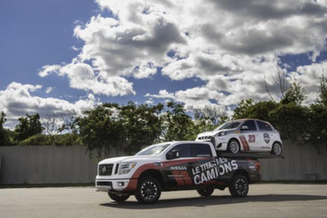 La conception du camion concept TITAN Hauler XD repose sur celle de son homologue de série. Ce camion concept vise à pousser encore plus loin les capacités déjà exceptionnelles du TITAN XD en matière de transport et de remorquage : en véhiculant une Nissan Micra dans sa caisse, il double pratiquement sa charge utile. (Groupe CNW/Nissan Canada Inc.)
