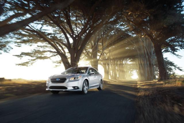 2015 Subaru Legacy (CNW Group/Subaru Canada Inc.)