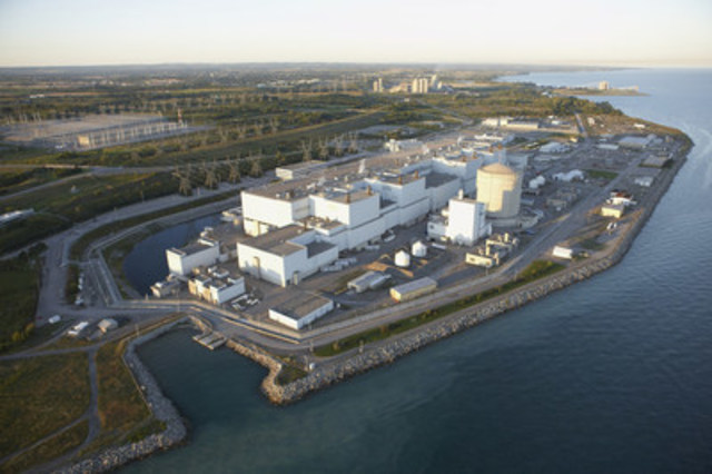 Darlington Nuclear Station (CNW Group/Ontario Power Generation Inc.)