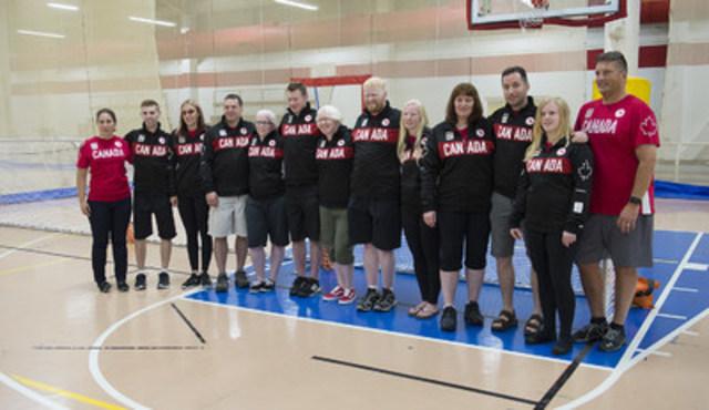 L'Association canadienne des sports pour aveugles et le Comité paralympique canadien sont fiers d'annoncer les 12 athlètes mis en nomination pour la sélection dans Équipe Canada de goalball masculin et féminin pour les Jeux paralympiques de Rio 2016 en septembre. (Groupe CNW/Comité paralympique canadien (CPC))