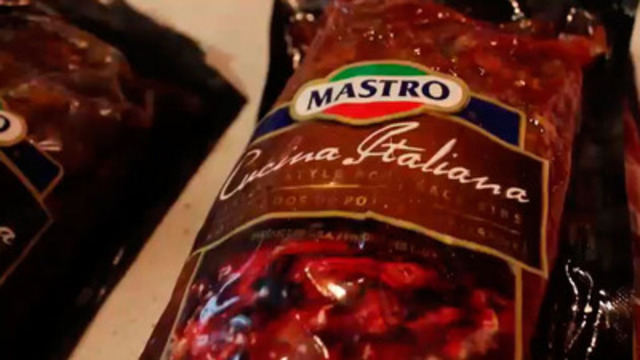 Video: Mastro Italian-style Ribs Launch at St. Lawrence Market