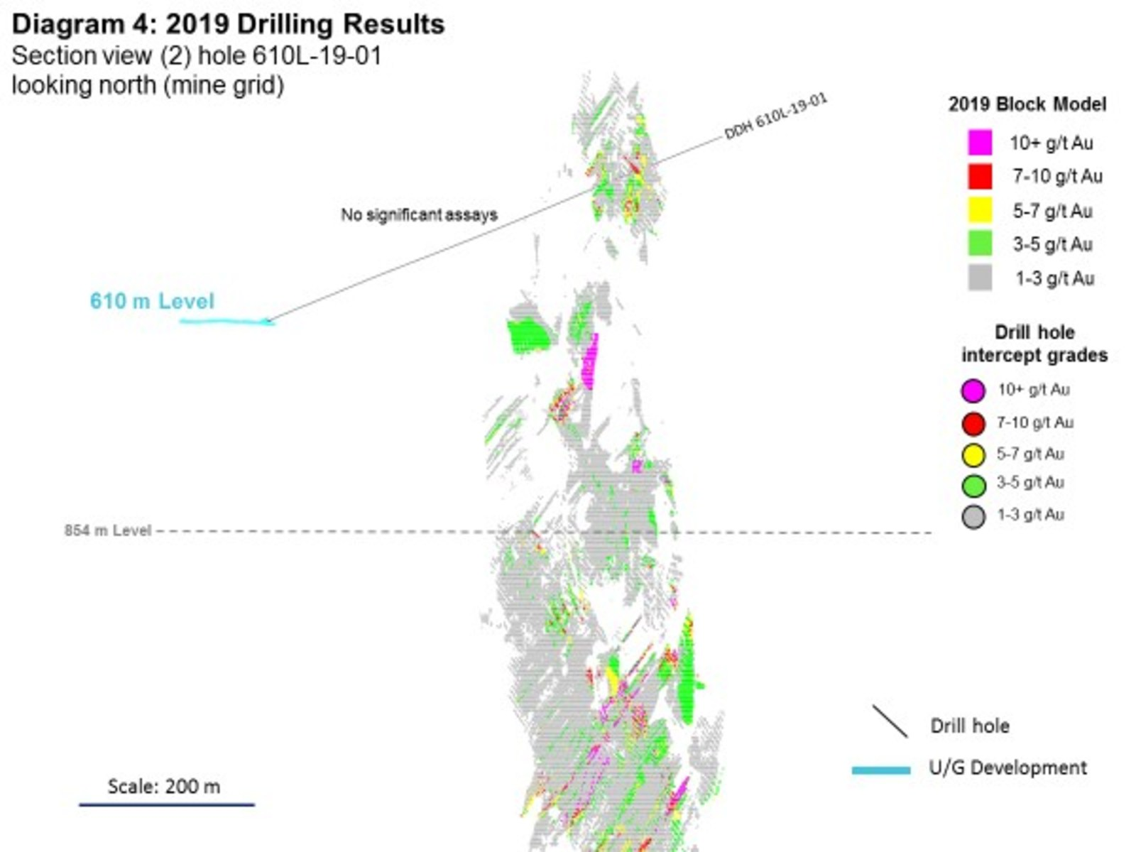 Diagram 4: 2019 Drilling Results