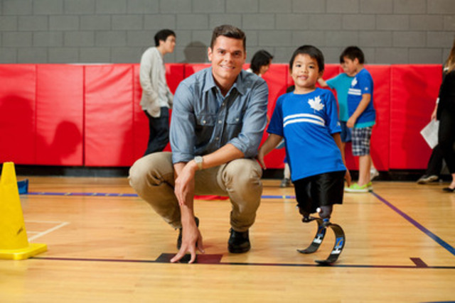 OTTAWA - Feb. 10, 2015 - The Canadian Paralympic Committee (CPC) is honoured and grateful to announce it is a recipient of a $30,000 grant from the Milos Raonic Foundation, to help more children with disabilities become involved in sports.   (CNW Group/Canadian Paralympic Committee (CPC))