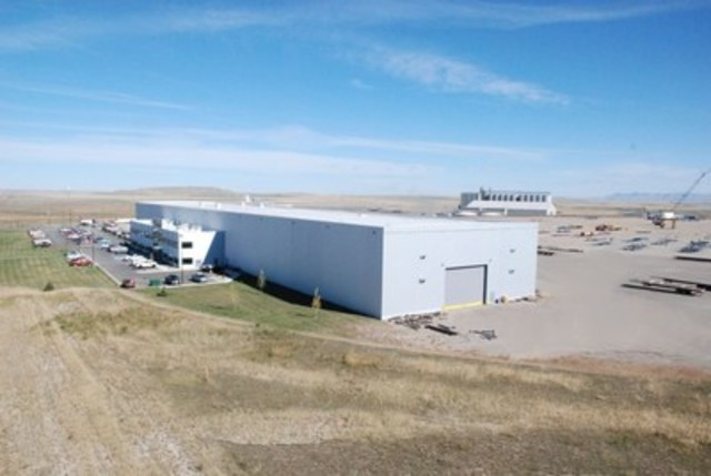 ADF's Fabrication Complex - Great Falls, Montana, USA (Source: ADF Group Inc.) (CNW Group/ADF Group Inc.)