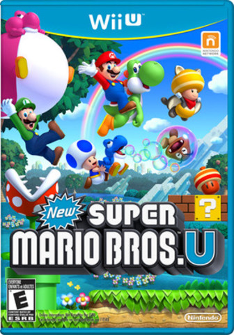 New Super Mario Bros. U is the latest game in the legendary Nintendo franchise. Experience Mario like never before in HD. (CNW Group/Nintendo of Canada Ltd.)