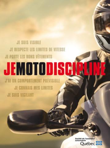 Campagne sur la sécurité à moto (Groupe CNW/Société de l'assurance automobile du Québec)