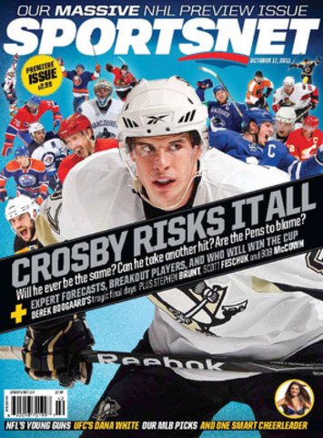 The brand-new Sportsnet magazine hits newsstands, mailboxes and iPads across the country today. The glossy biweekly features sports news, investigative journalism, opinions, humour and photo galleries. At more than 100 pages, the inaugural issue also contains a special NHL preview section. (CNW Group/Sportsnet magazine)