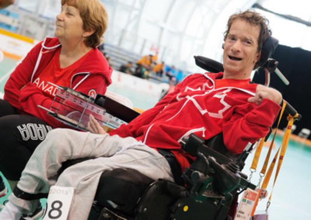 Bruno Garneau (Montreal, Que.) has been added to the Canadian boccia team for the Rio 2016 Paralympic Games. Garneau replaces Paul Gauthier (Vancouver, B.C.), who is unable to compete in Rio due to injury. Photo: Matthew Murnaghan / Canadian Paralympic Committee (CNW Group/Canadian Paralympic Committee (CPC))