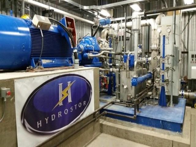 Hydrostor energy conversion centre 2: Hydrostor's on-shore energy conversion centre (CNW Group/Toronto Hydro Corporation)