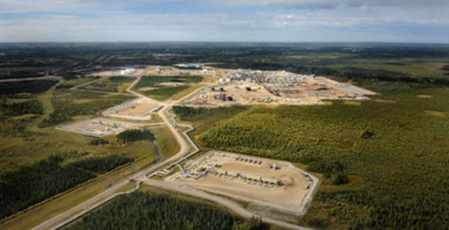 Cenovus's Christina Lake operation in northern Alberta uses specialized methods to drill and pump the oil to the surface (CNW Group/Cenovus Energy Inc.)