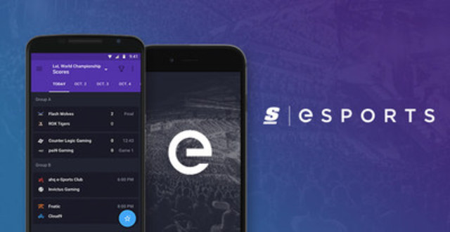 theScore esports: Brand New Look, Same Great Coverage (CNW Group/theScore, Inc.)