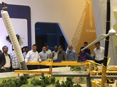 إكس سي أم جي، الملتزمة بمبادرة الحزام والطريق الصينية، تحقق نجاحات كبيرة في السوق الدولي
