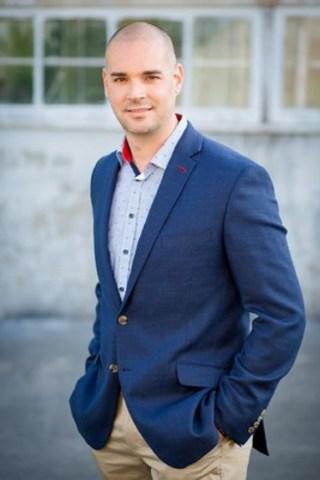 Nicolas Duvernois, PDG de PUR Vodka et futur Président de la JCCM (Groupe CNW/Jeune Chambre de commerce de Montréal)