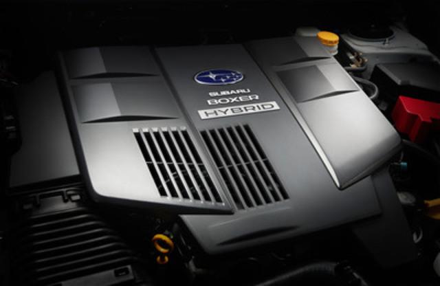 2014 Subaru XV Crosstrek Hybrid (CNW Group/Subaru Canada Inc.)
