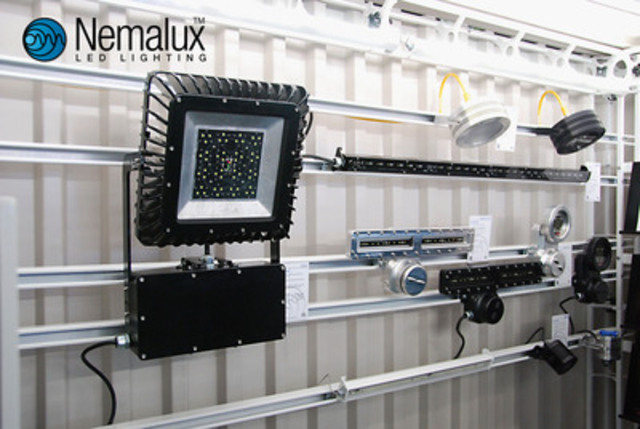 Hazardous Location Lighting System - 10 years of constant light without changing a bulb (CNW Group/Nemalux LED Lighting)