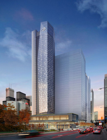 Delta Hôtels et Villégiatures inaugure son hôtel phare dans le Centre-Sud de Toronto (Groupe CNW/Delta Hôtels et Villégiatures)