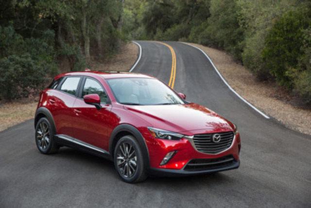 2016 Mazda CX-3 - Best New SUV of the Year (CNW Group/Mazda Canada Inc.)