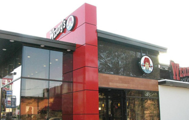 Wendy's first Canadian ultra modern concept store is one of four new concepts to be tested by the company in North America. (CNW Group/Wendy's International, Inc.)