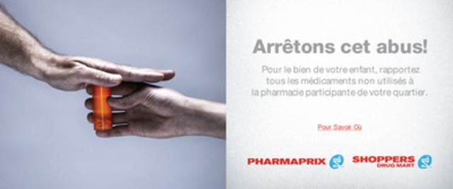 Les Canadiens ont répondu en très grand nombre à l'appel lancé dans le cadre de la campagne nationale de récupération des médicaments non utilisés (Groupe CNW/Partenariat pour un Canada sans drogue)