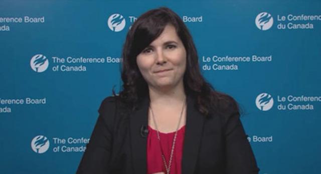 Kristelle Audet, Economiste explique Les Performances du Canada : Bilan comparatif sur l'éducation et les compétences pour le Canada et les provinces.