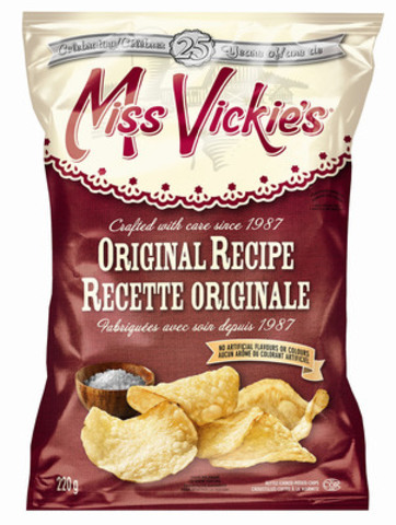 Miss Vickie's Recette originale (Groupe CNW/PEPSICO CANADA)