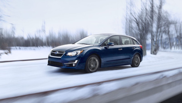 2016 Subaru Impreza 5-door (CNW Group/Subaru Canada Inc.)