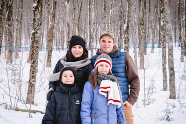 Ce mois-ci sur vosagriculteurs.tv , l'acériculture est à l'honneur! Rencontrez la famille Descôteaux-Lagarde, des Sucreries DL, située à Lac-Etchemin. (Groupe CNW/Union des producteurs agricoles)