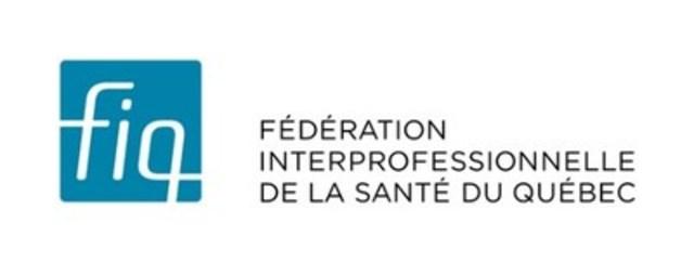 Logo : Fédération interprofessionnelle de la santé du Québec (Groupe CNW/Fédération interprofessionnelle de la santé du Québec - FIQ)