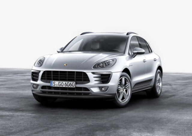 Porsche reveals new details, including a new engine option, in the 2017 Macan on March 9, 2016. (CNW ...