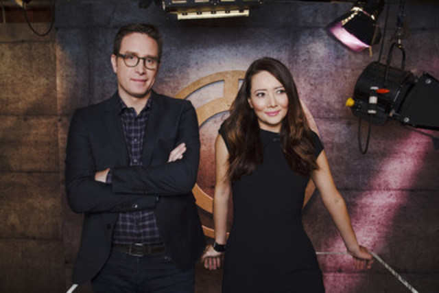 DAILY PLANET co-hosts Dan Riskin and Ziya Tong (CNW Group/Discovery)