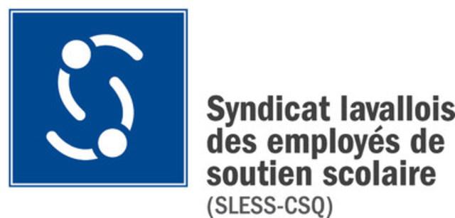 Logo : Syndicat lavallois des employés de soutien scolaire (SLESS-CSQ) (Groupe CNW/Syndicat lavallois des employés de soutien scolaire (SLESS-CSQ))